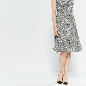 Nanette Lepore Leopard Print Dress w/ Sleeves